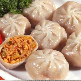 HACCP/2봉 감자김치만두1.2kg/감자 만두/무료배송 간식