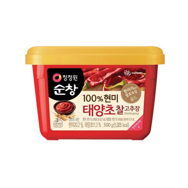 찰고추장 500g(현미) 상품이미지
