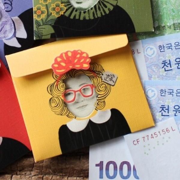 방긋 미니 돈봉투 - 신사임당 / 013-ME-0002 상품이미지