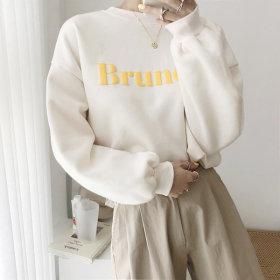 비이심플 브런치 맨투맨 티셔츠