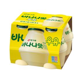빙그레 바나나맛 우유 240ml x 4입