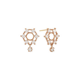 LPSJ2006G/Cubic Zirconia/14K/Earrings