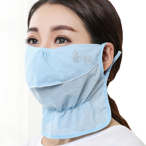(인증)밴딩 자외선차단 마스크/얼굴 안면 햇빛가리개 상품이미지