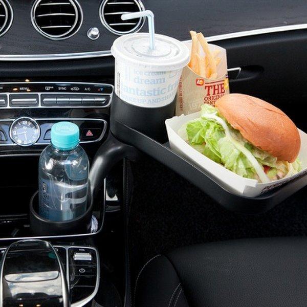 (핫트랙스) 커스텀플라스틱 컵플러스 CUPLUS 차량용 컵홀더   트레이 상품이미지