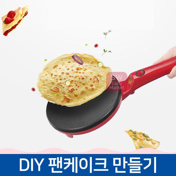 홈베이킹 DIY팬케이크 전기 후라이팬 크레이프 전병 상품이미지