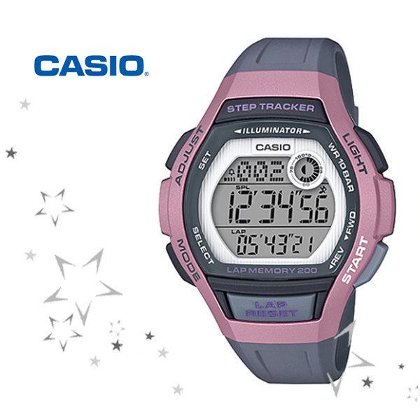 카시오 LWS-2000H-4A 만보기 여성 스포츠기어 시계 상품이미지