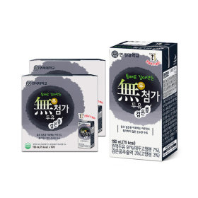 연세두유 무첨가 검은콩 두유 32팩