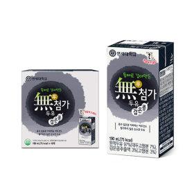 연세두유 무첨가 검은콩 두유 16팩