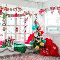 (크리스마스파티장식소품모음)산타 크리스마스 루돌프