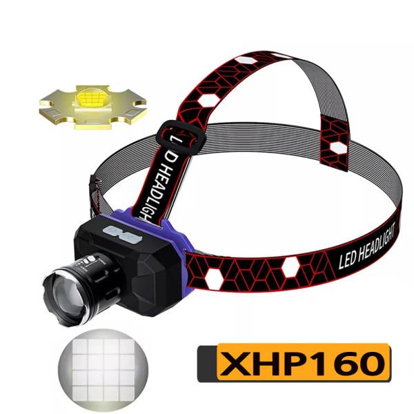 LED 충전식 헤드랜턴 작업등 랜턴 서치라이트 서치헤드 상품이미지