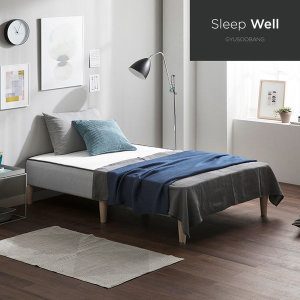 슬립웰 레스트 우디 독립매트리스 일체형 침대