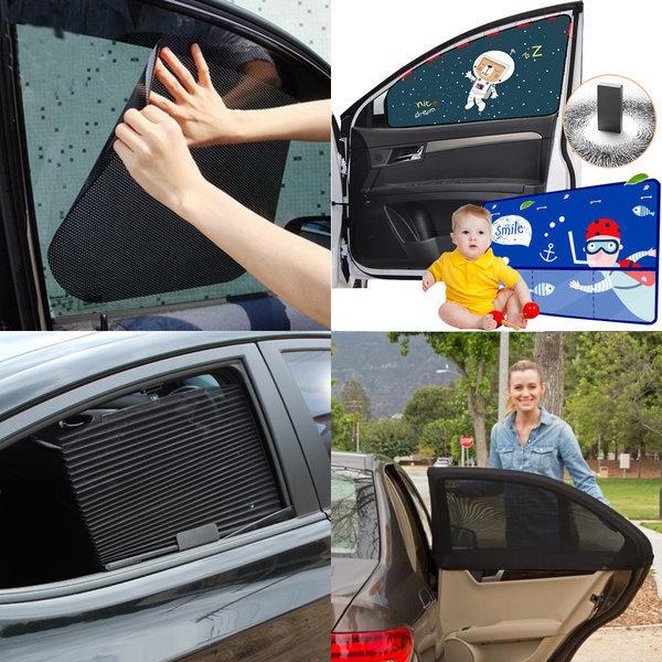 물로붙이는 햇빛가리개/차량용/커튼/자동차/썬바이저 상품이미지