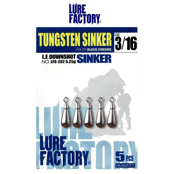 루어팩토리 광어/배스 텅스텐 다운샷 싱커 LFS-202 상품이미지
