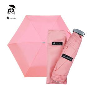 비비움벨라 무지 3단 우산 가벼운 컬러우산 화사한분홍