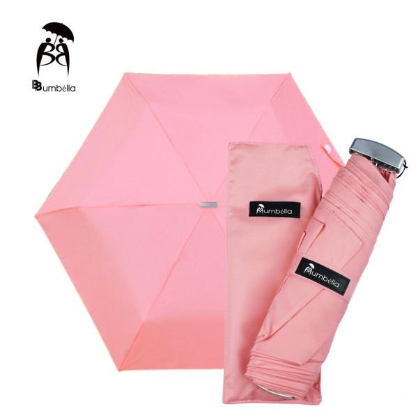 비비움벨라 무지 3단 우산 가벼운 컬러우산 화사한분홍 상품이미지