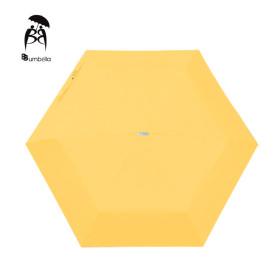비비움벨라 무지 3단 우산 가벼운컬러우산 예쁘다노랑
