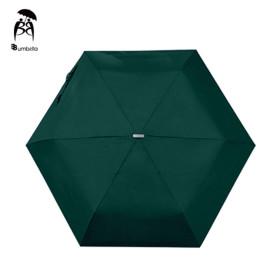 비비움벨라 무지 3단 우산 가벼운 컬러 우산 찐해그린