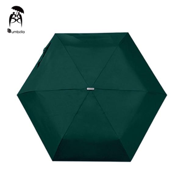 비비움벨라 무지 3단 우산 가벼운 컬러 우산 찐해그린 상품이미지