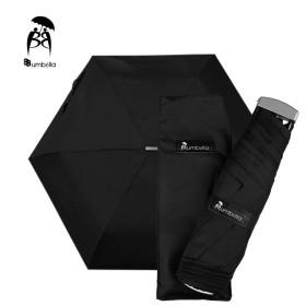 비비움벨라 무지 3단 우산 가벼운 컬러 우산 시크블랙