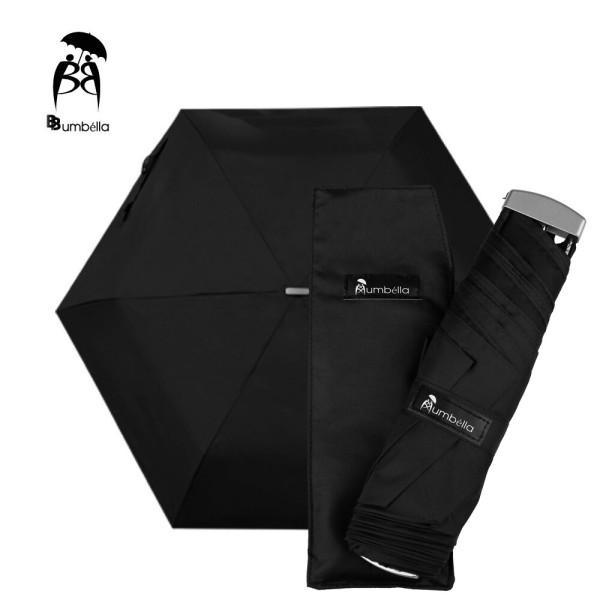 비비움벨라 무지 3단 우산 가벼운 컬러 우산 시크블랙 상품이미지