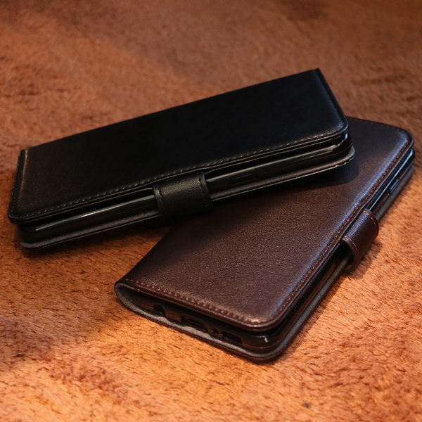 갤럭시 S9 수제 소가죽 지갑 다이어리 케이스 상품이미지