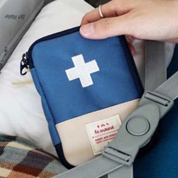 빠띠라인 휴대용 응급파우치 (소) 블루 상품이미지