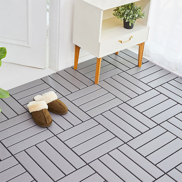 DIY 조립식 데크타일 마루 바닥재 9p (3color) 상품이미지