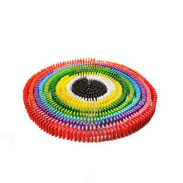 생활용품 무지개 원목 도미노 800PCS 상품이미지