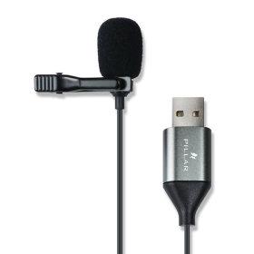 컴소닉 PILLAR CM-001 USB 핀마이크 클립 방송 핸드폰