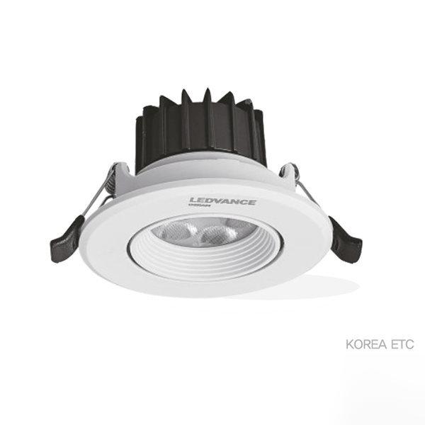 오스람/LEDVANCE/LED스팟 다운라이트/3인치/5W/매입등 상품이미지