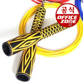 김수열 초고속줄넘기 노랑 K-200 210cm 선수용 경기용