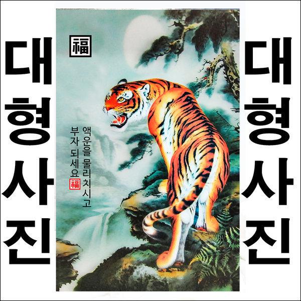 B651/액자/호랑이/호랑이그림/호랑이사진/호랑이액자 상품이미지