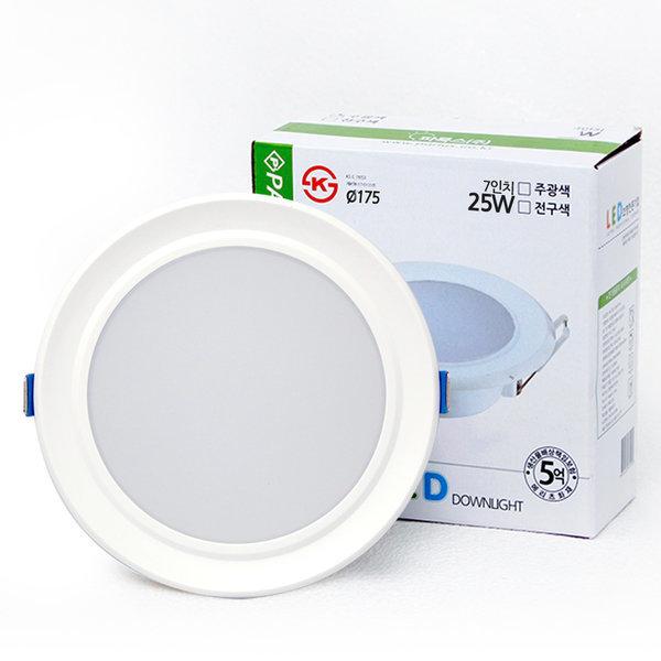 파룩스 LED 다운라이트 7인치 25W 상품이미지