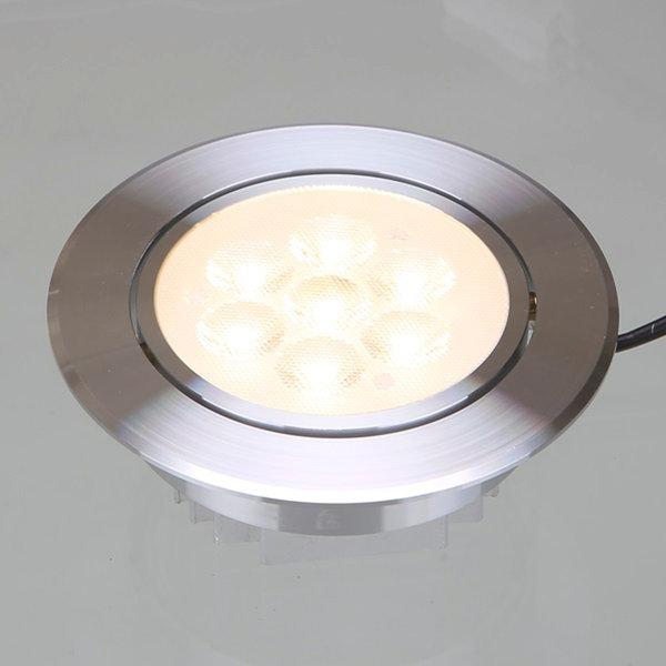 비츠온 4인치 MR-16 LED 다운라이트 7W 매입등 실버테 상품이미지