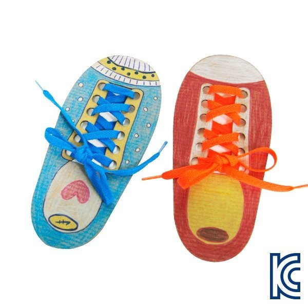 DIY342나만의신발끈묶기-운동화신발끈묶기연습 상품이미지