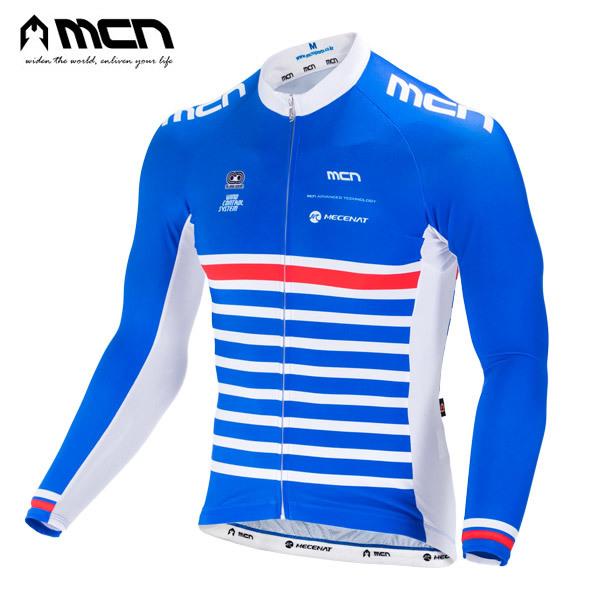 (현대Hmall)MCN 블루마린 긴팔져지 자전거져지 자전거의류 상품이미지