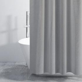 패브릭 샤워커튼-그레이 180x180cm / 샤워커텐 욕실