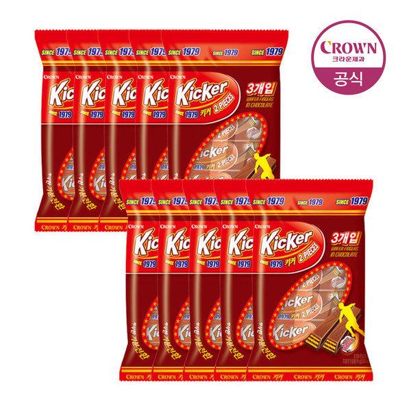 키커 초콜릿 3입 51g 10봉 상품이미지