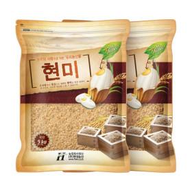 국산 현미10kg/현미5kgx2봉