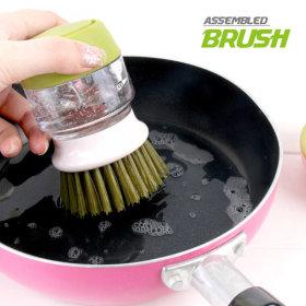 퐁퐁수세미 그린 설거지 세척솔 청소솔 세척브러쉬