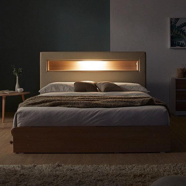 new 라임 LED 3단서랍 슈퍼싱글침대 프레임 DF640112 상품이미지