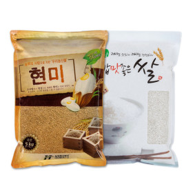 국산 현미5kg+백미5kg