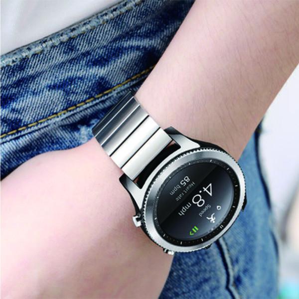 갤럭시워치 기어2 3 4 심플 메탈 밴드 시계줄 20/20mm 상품이미지