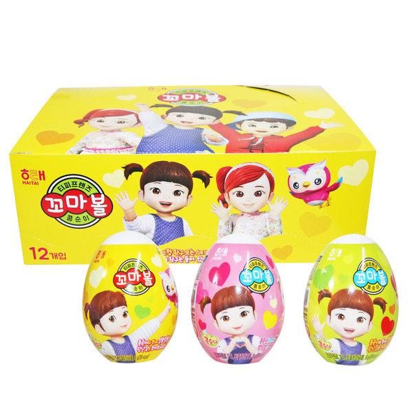 티피프렌즈 꼬마볼 헬로카봇 1곽(12개입) 초콜릿/킨더 상품이미지