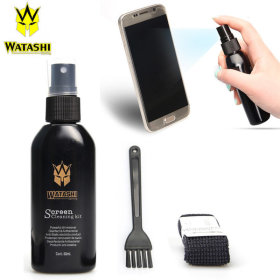 WATASHI 3종세트 LCD액정클리너+극세사타월+청소솔
