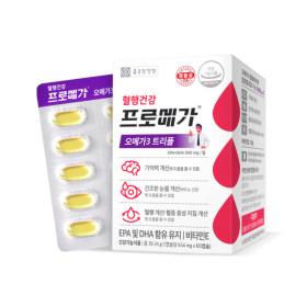 프로메가 기억력 오메가3 1박스 (60캡슐/30일분)