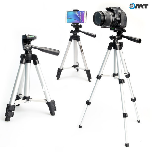 OMT 3단 카메라 삼각대 핸드폰 DSLR 디카 OCA-TP1000 상품이미지