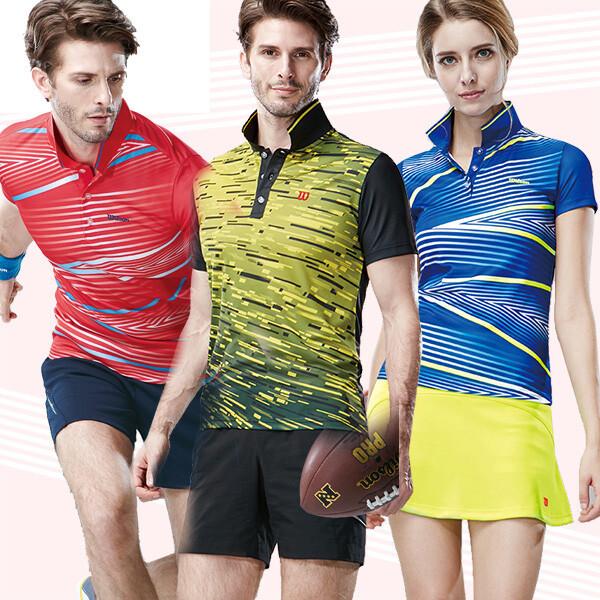 배드민턴마켓 윌슨 배드민턴복 의류 남여티셔츠 상품이미지