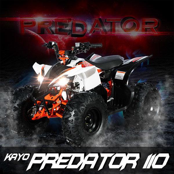 카요 ATV 프레데터110cc/스포츠형/사륜/사발이 상품이미지