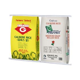 미국쌀 칼로스 10kg+10kg 수입쌀 17년산(박스포장)